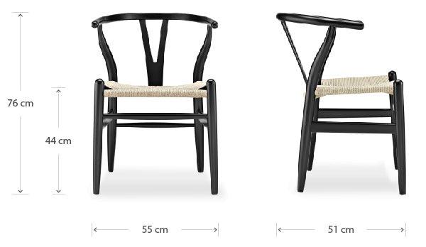 Y chair dimensions