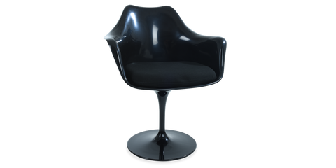 Tulip Armchair Black