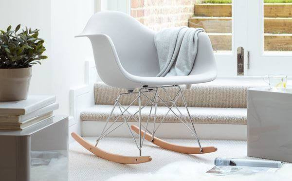 eames rocking chair f r ihre wohnung gebraucht oder original. Black Bedroom Furniture Sets. Home Design Ideas