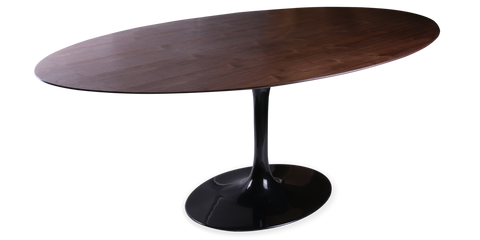 Tulip Style Oval Dining Table
