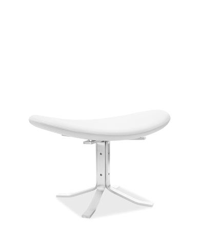 Corona Stool - White | Classic Leather | CLEARANCE