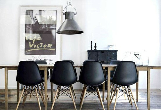 eames chair als replikat oder original dsw dsr und daw. Black Bedroom Furniture Sets. Home Design Ideas