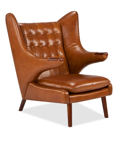 Papa Bear Chair | Leather