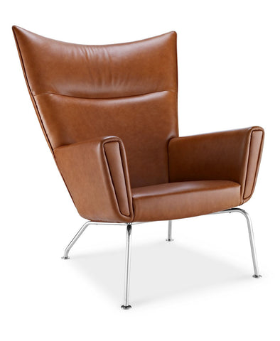 Wing chair | Leather