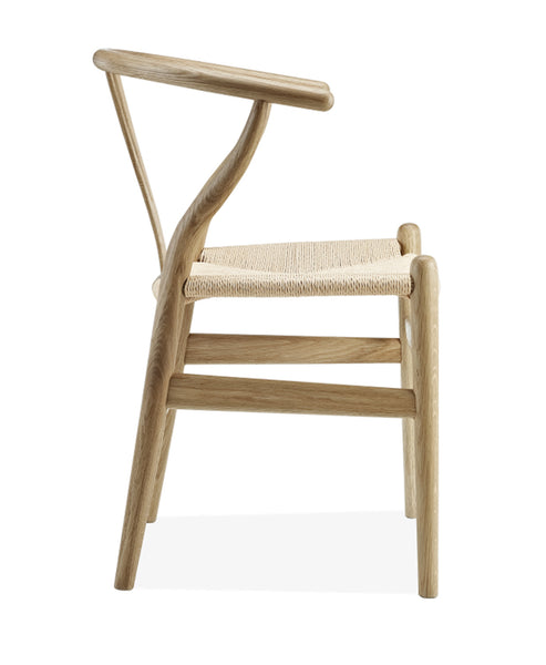Y chair premium wood for Chaise eames replique