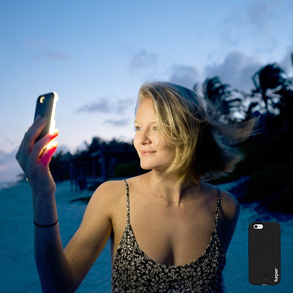 iPhone 6 Case With Selfie Light