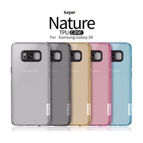 Nillkin Case for Samsung Galaxy S8 Nature Series - Blue