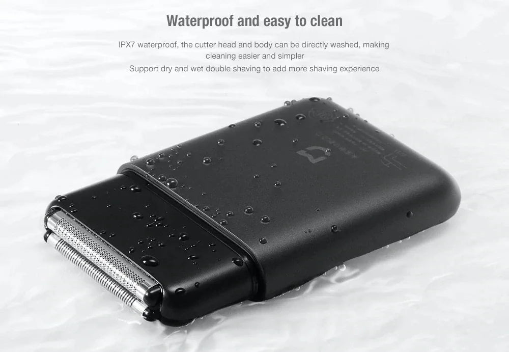 mijia xiaomi shaver dry wet portable in india ultra shave