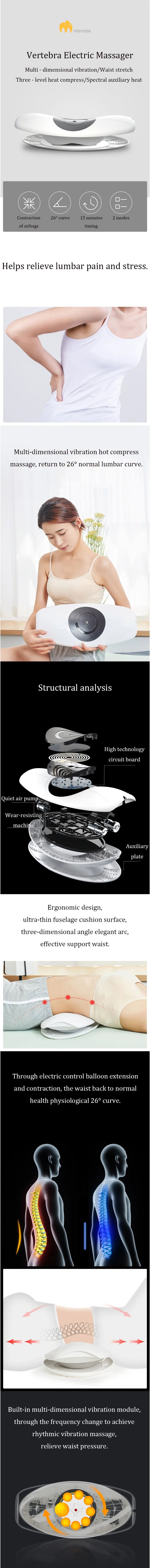 Lumbar massager for back pain in india