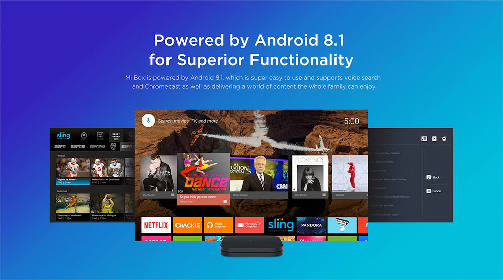 Xiaomi Mi Box S with 4K HDR and 8 1 Android Support (Global Version)