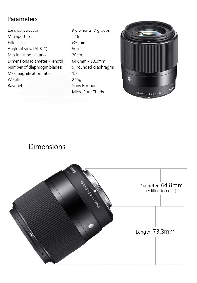 sigma 30mm india price details