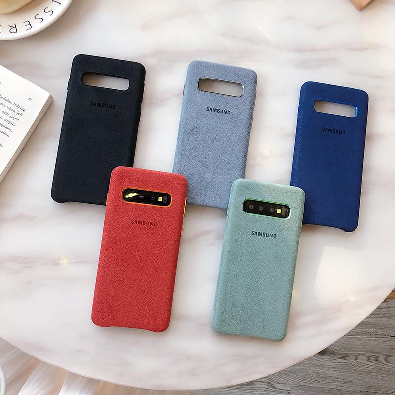Samsung Galaxy S10+ Plus Alcantara Cover Cases