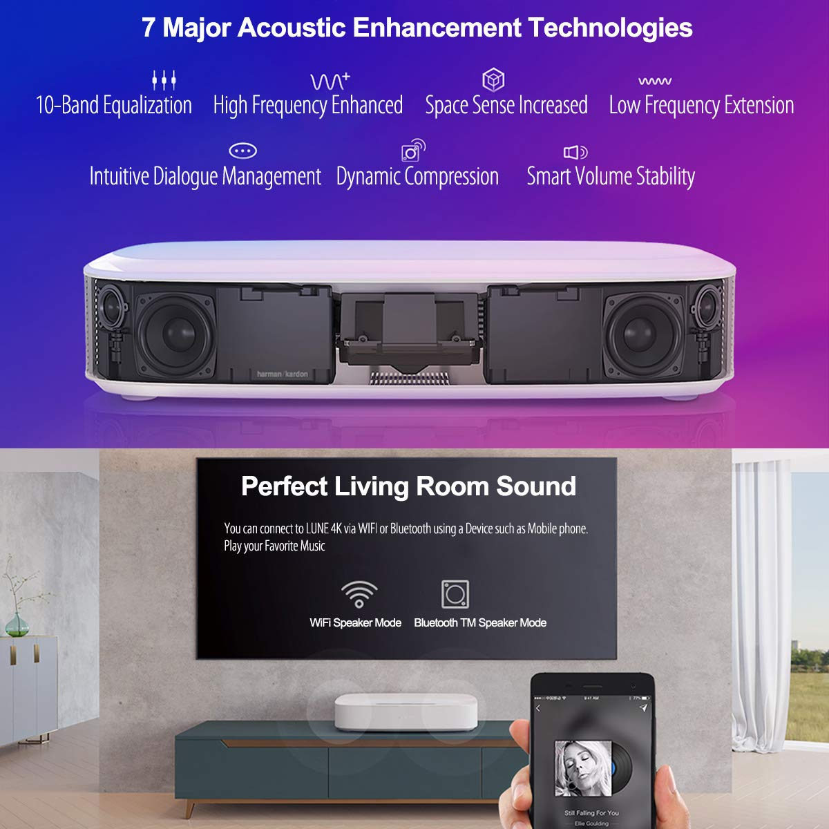 XGIMI LUNE native 4K HOME ULTRA SHORT THROW PROJECTOR in india