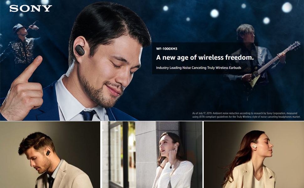 Truly Wireless Noise Cancelling Earbuds