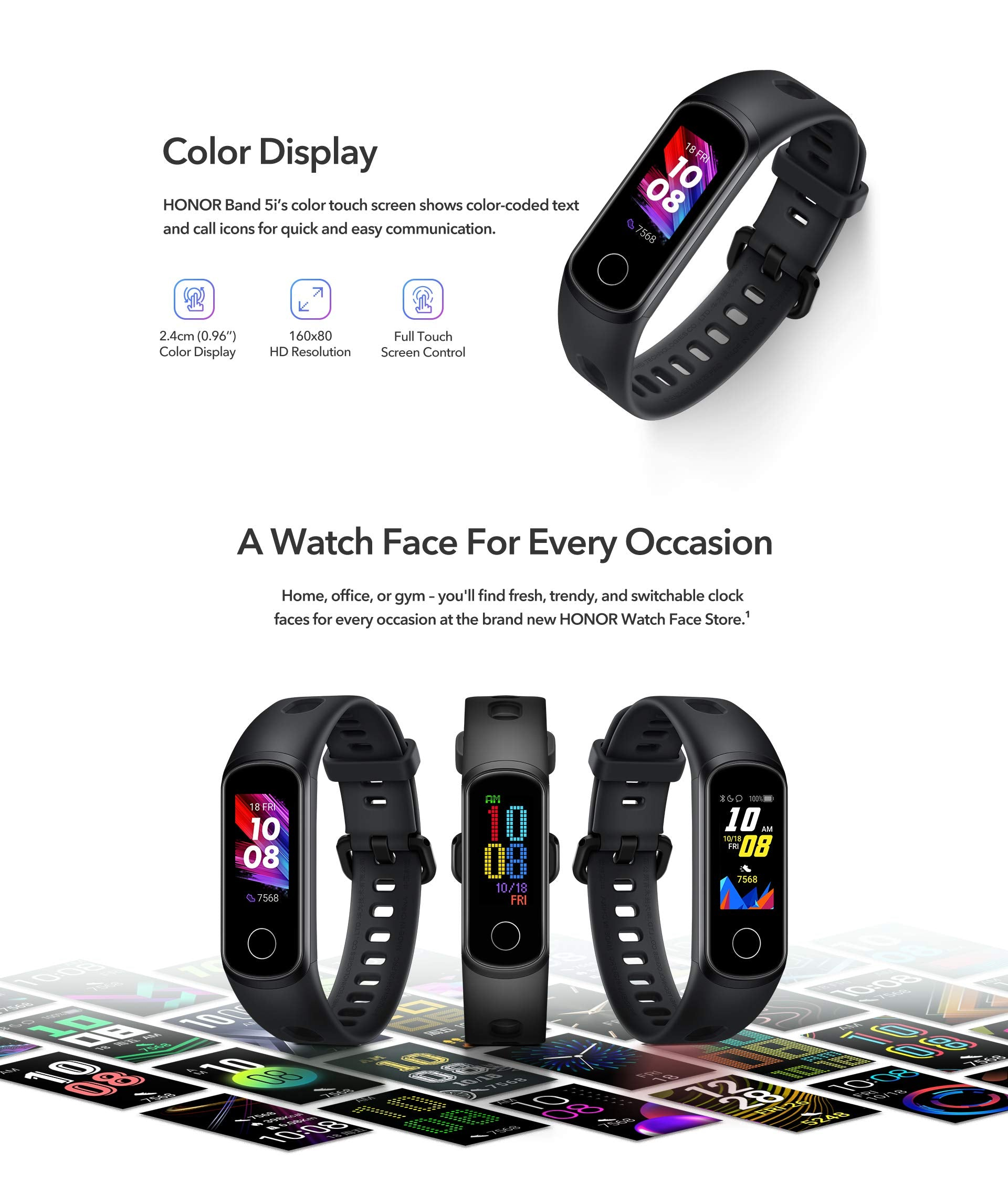 honor band 5i in india price