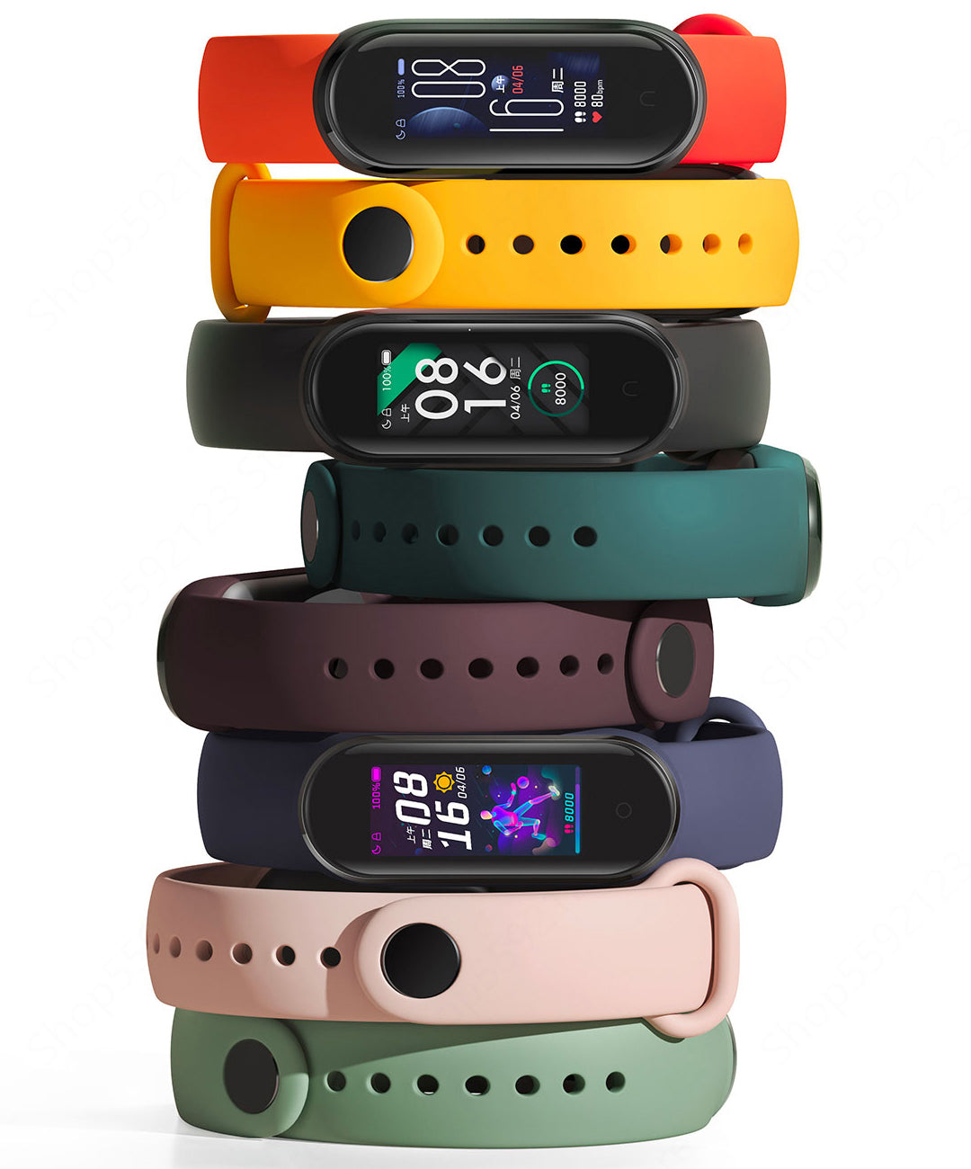 mi band 5 furper store buy online in india colors