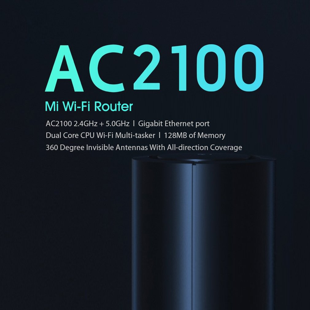Dual Frequency Wifi 2.4G 5G mi ac2100 wifi router in india