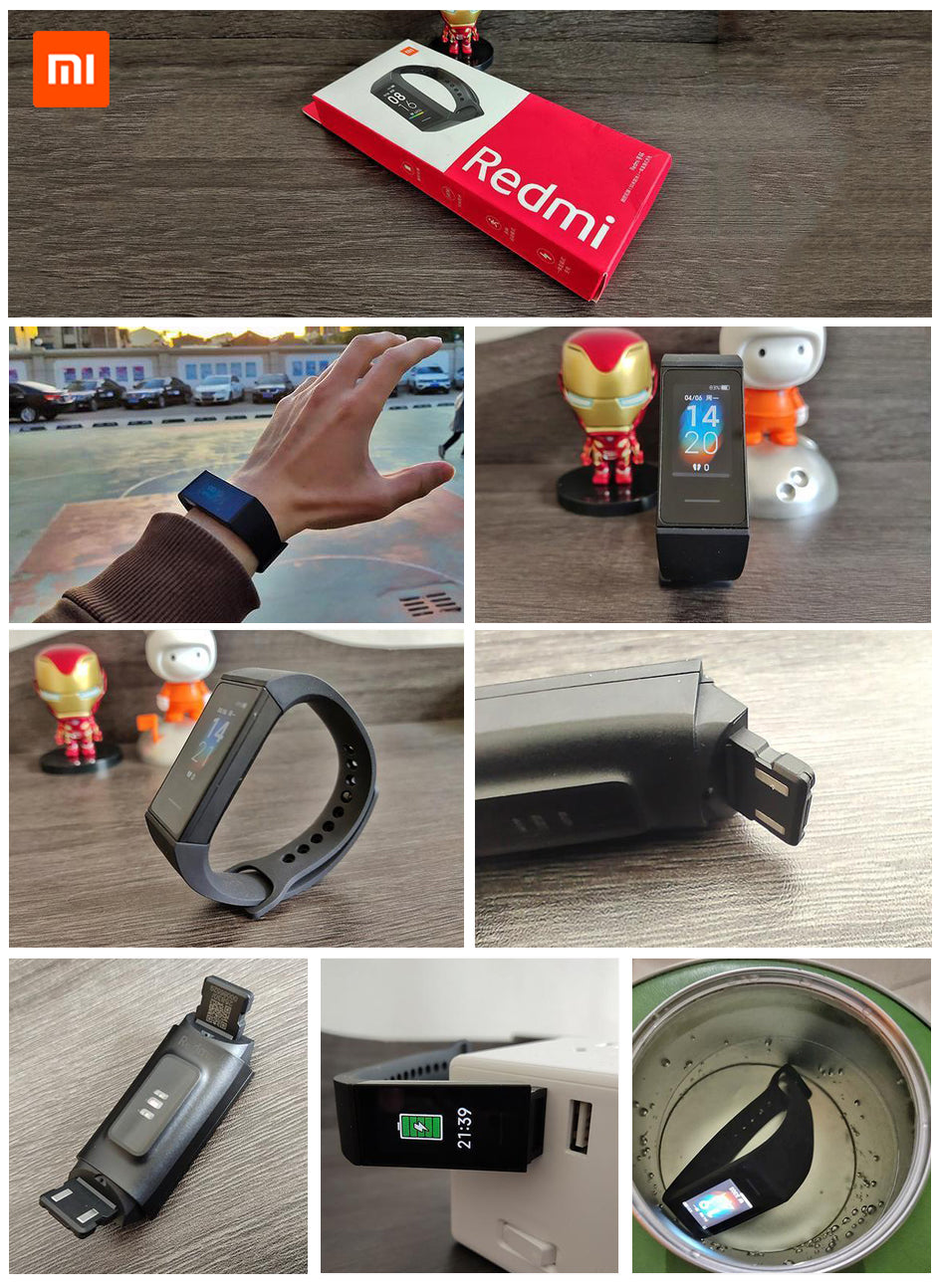redmi band in india