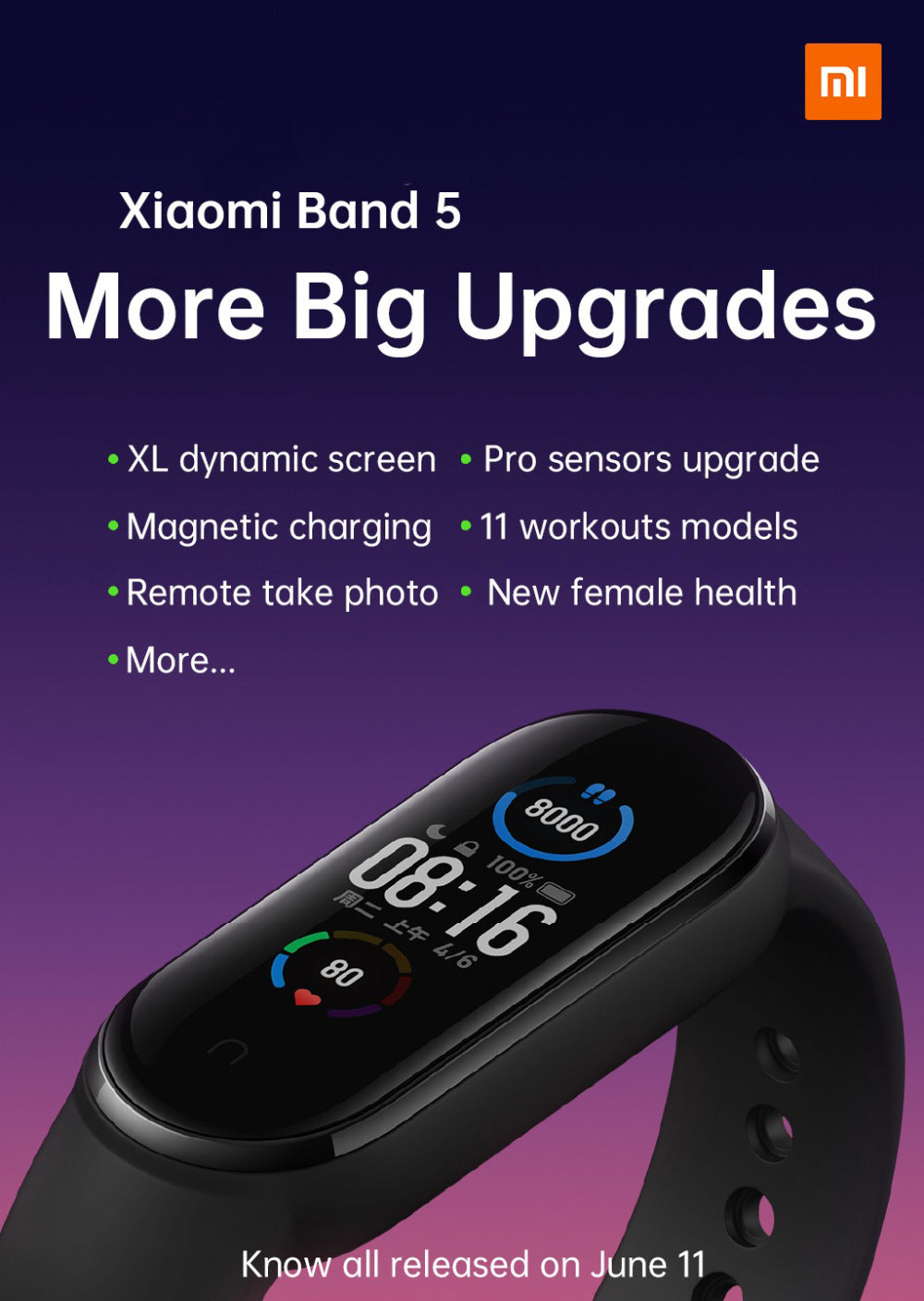 xiaomi mi band 5 global version india price