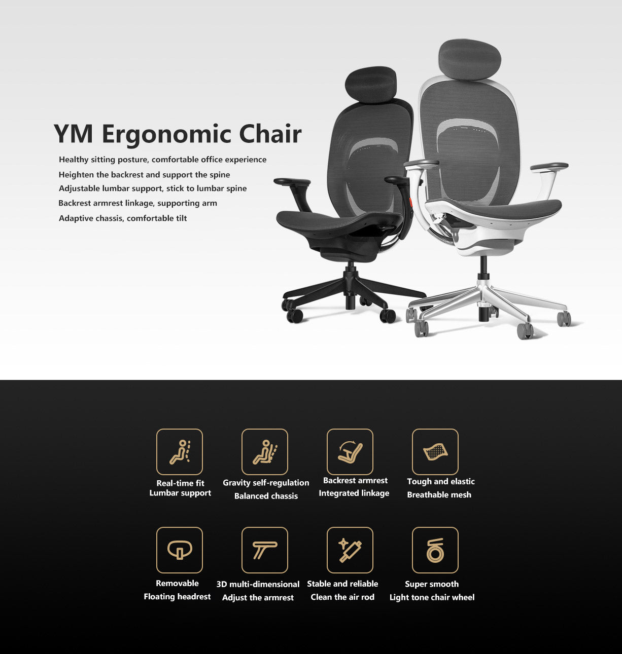 xiaomi ym office gaming chair in india furper