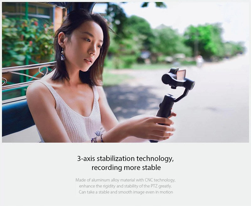 Xiaomi Mijia 4k Action Camera Stabilization Gimbal India Price