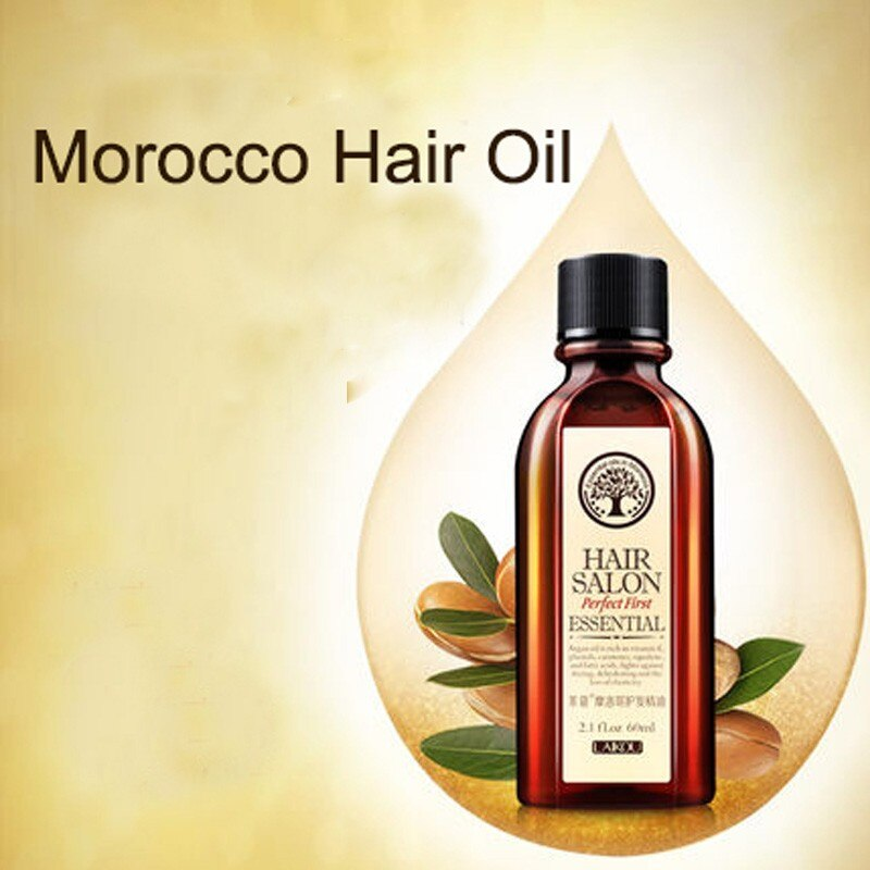 LAIKOU Moroccan Pure Argan Oil 60ml Hair Essence