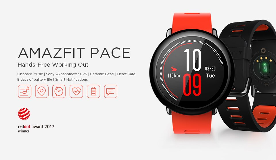 amazfit pace in india smartwatch fitness