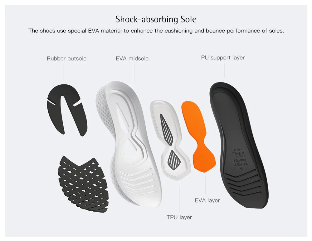 Xiaomi-Mijia-2-Fishbone-Shock-Absorbing-Sole-Sneakers-shoes
