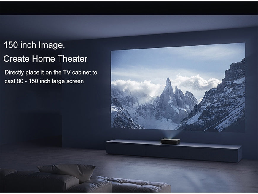 xiaomi mijia native 4k ultra short throw projector