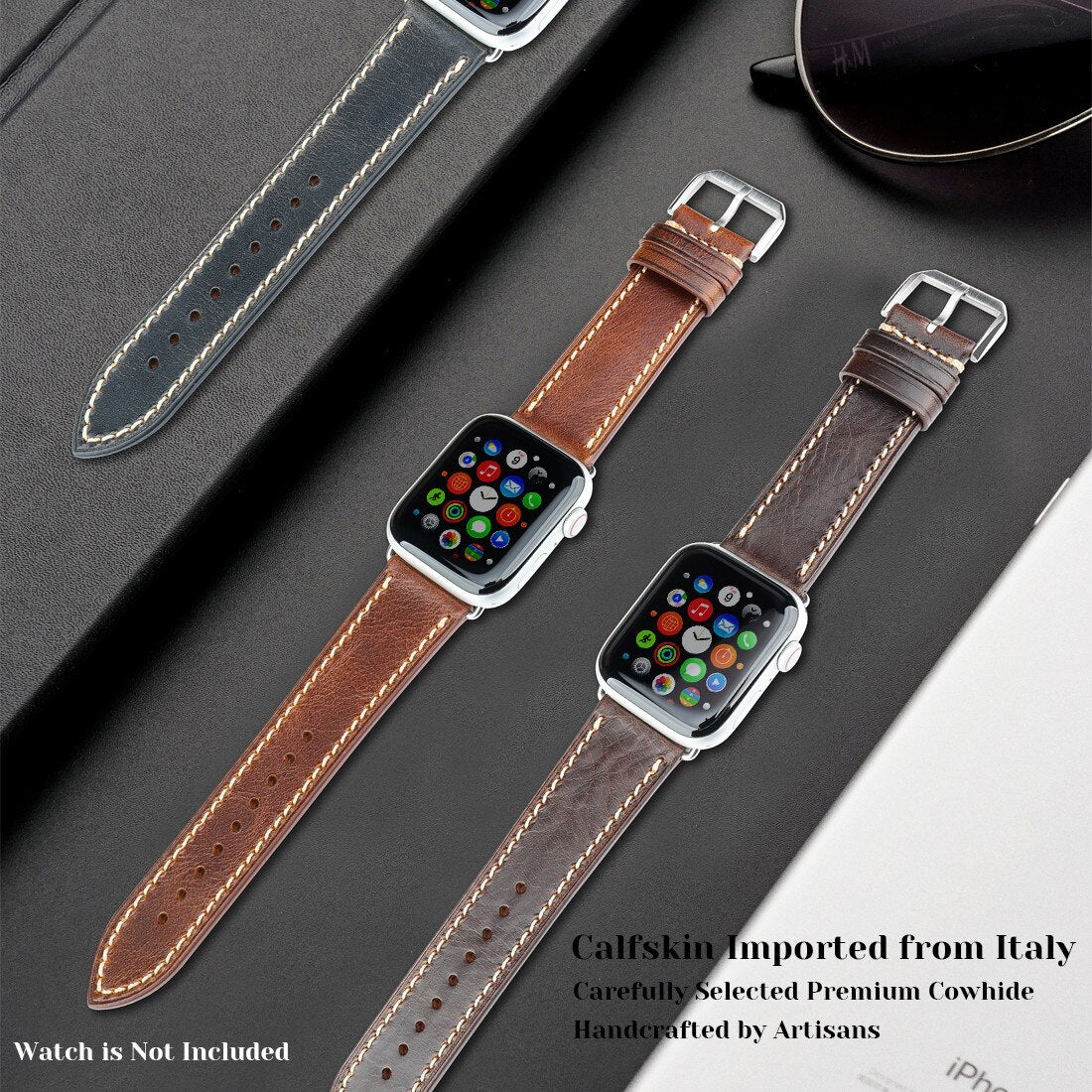 apple watch leather straps in india