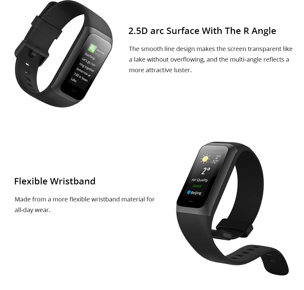 Amazfit cor 2 global version india