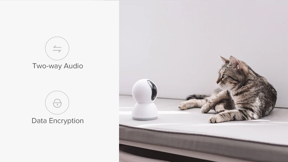 Xiaomi Mijia Smart IP Camera 1080P PTZ Edition India