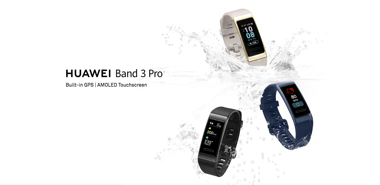 Huawei Honor Band 3 Pro (Global Version) NFC India