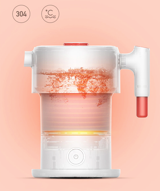 Xiaomi Deerma Folding Electric Water portable Kettle in india