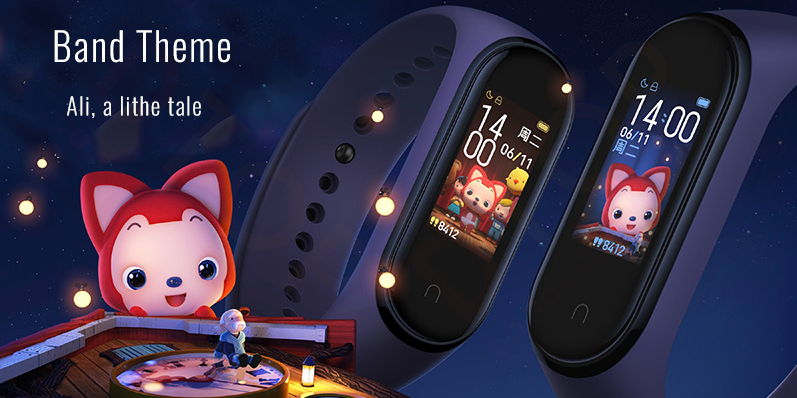 Mi band 4 themes face