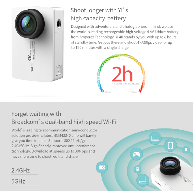 YI 4K Action and sports camera india price