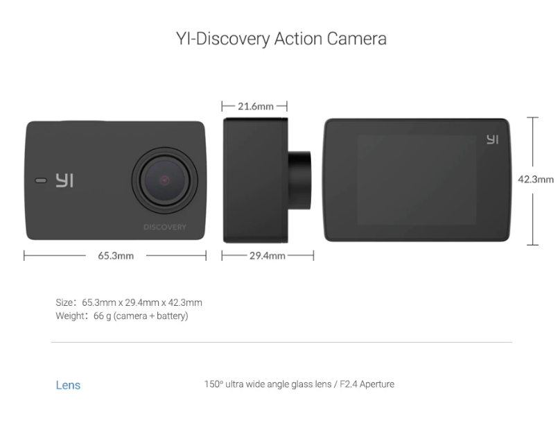 Yi discovery action price in india