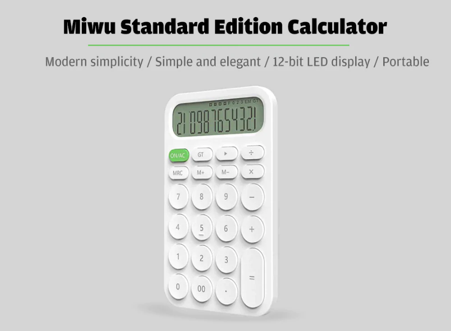 Xiaomi calculator in india