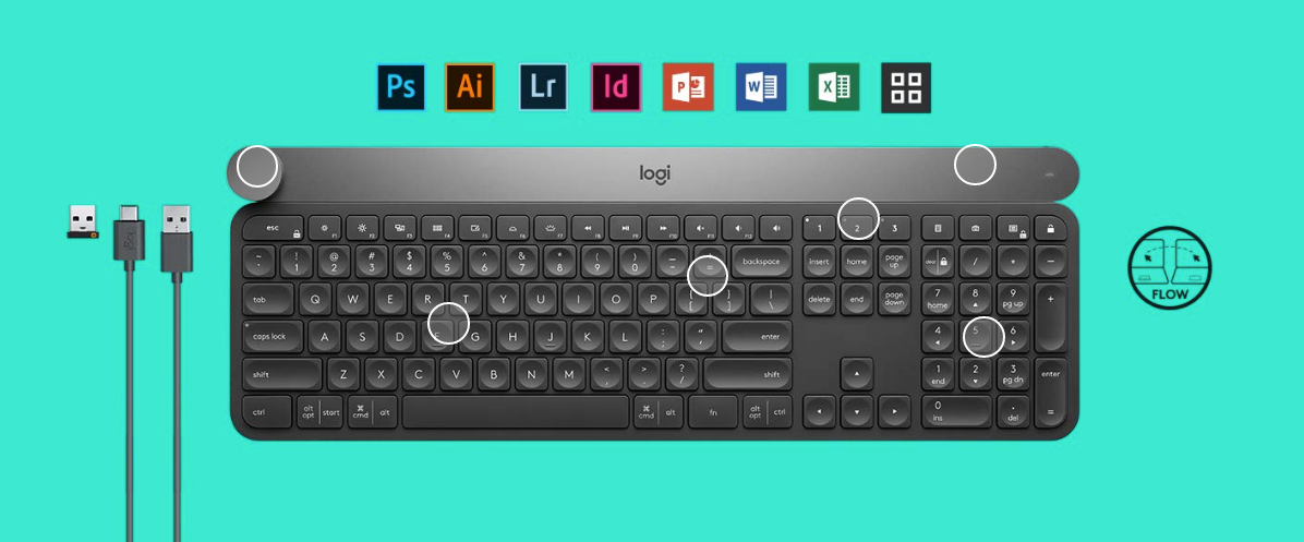 Logitech Craft photoshop keyboard india price