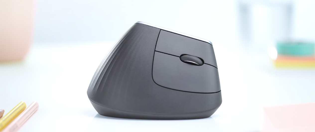 Next-level comfort with MX Vertical Advanced Ergonomic Mouse