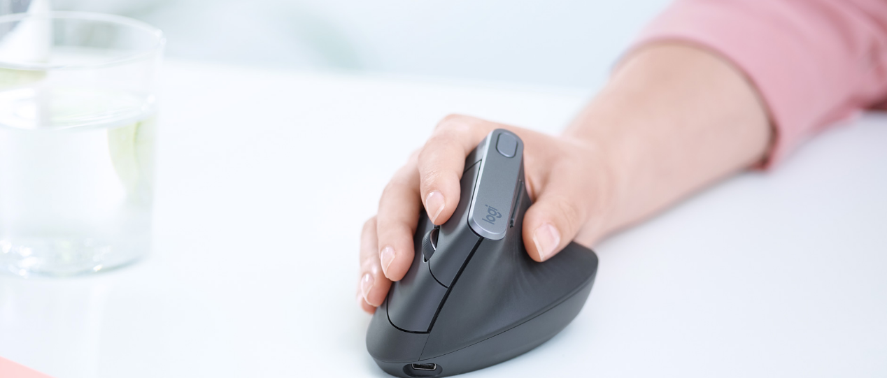 Next-level comfort with logitech MX Vertical Advanced Ergonomic Mouse india