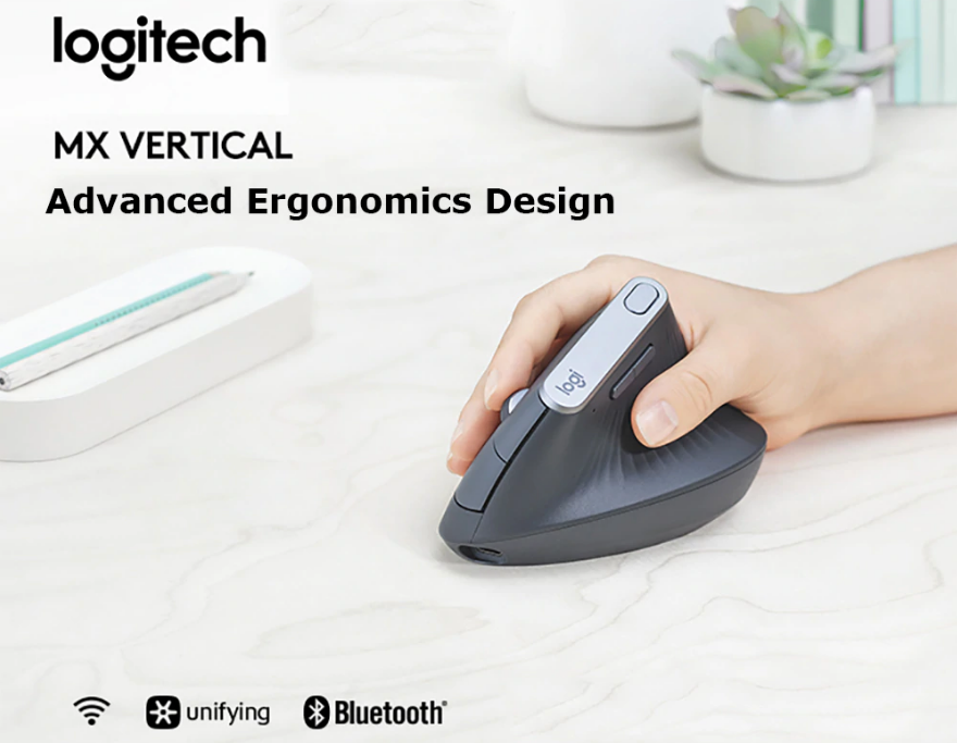 logitech mx vertical wireless keyboard
