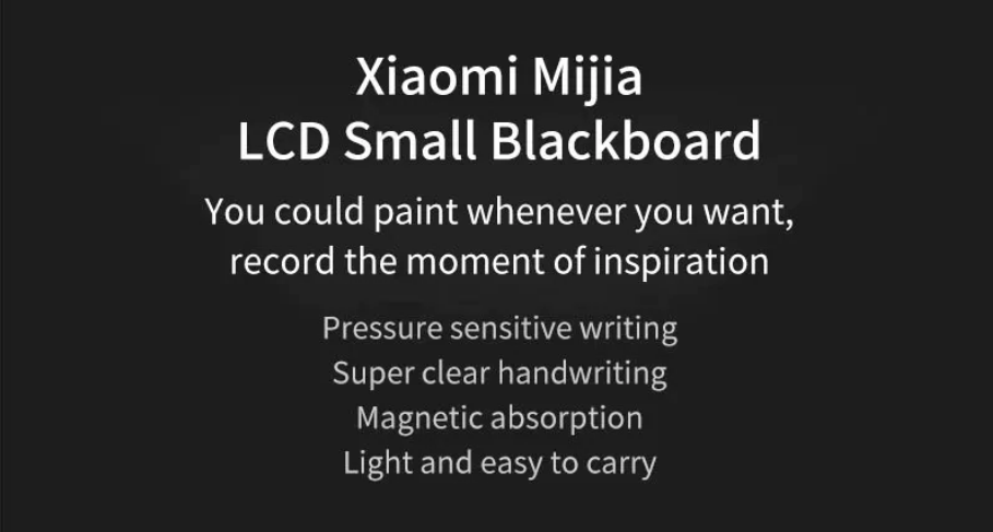 xiaomi mi blackboard in india