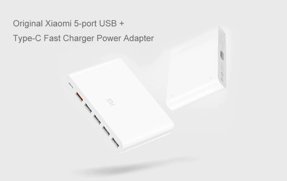 Dual quick charge interface design, QC3.0 fast charge