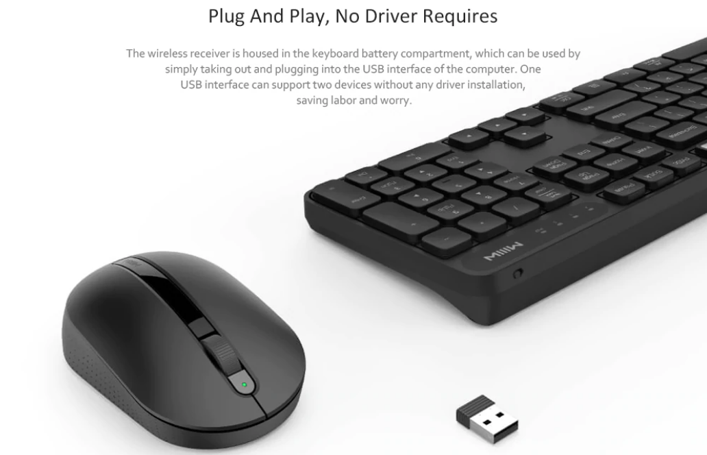 Xiaomi MIIIW Wireless Office Keyboard & Mouse Set india
