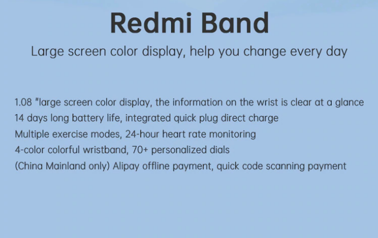 redmi band in india price furper