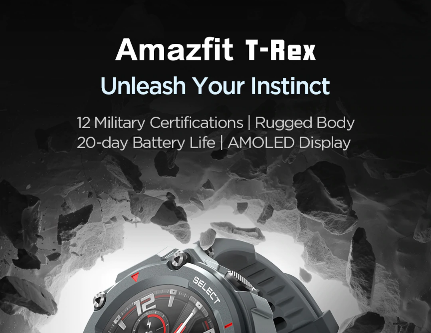 amazfit t-rex smartwatch in india