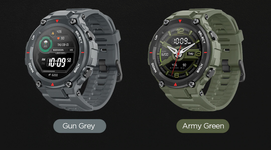 amazfit t-rex in india smartwatch GPS