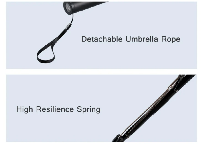 xiaomi umbrella with night light led features