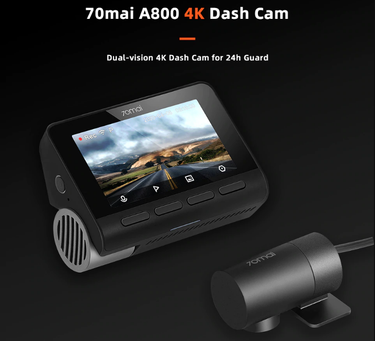 Xiaomi 70mai A800 4K Dash Camera in India Price